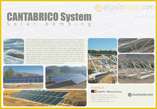 Cantabrico System Technical Sheet