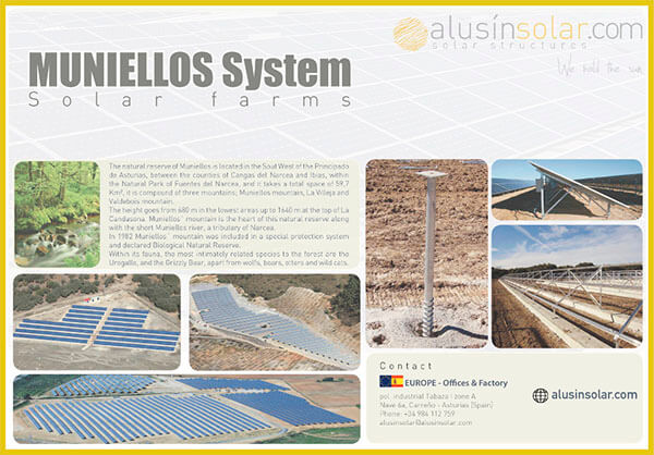 Muniellos System Technical Sheet