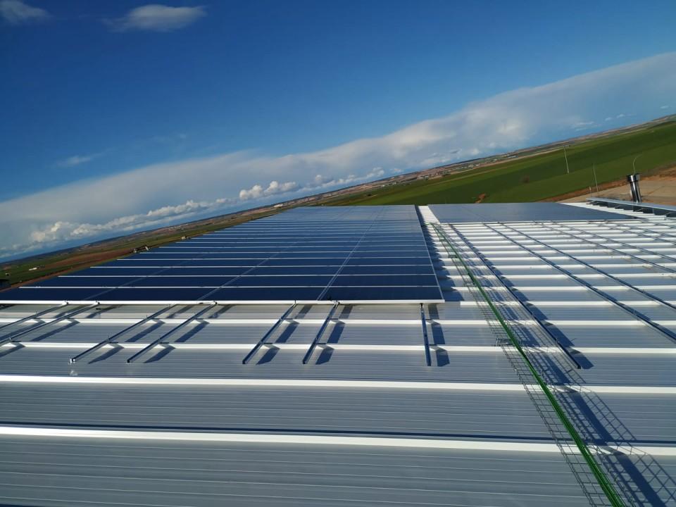 Estructuras solares coplanares