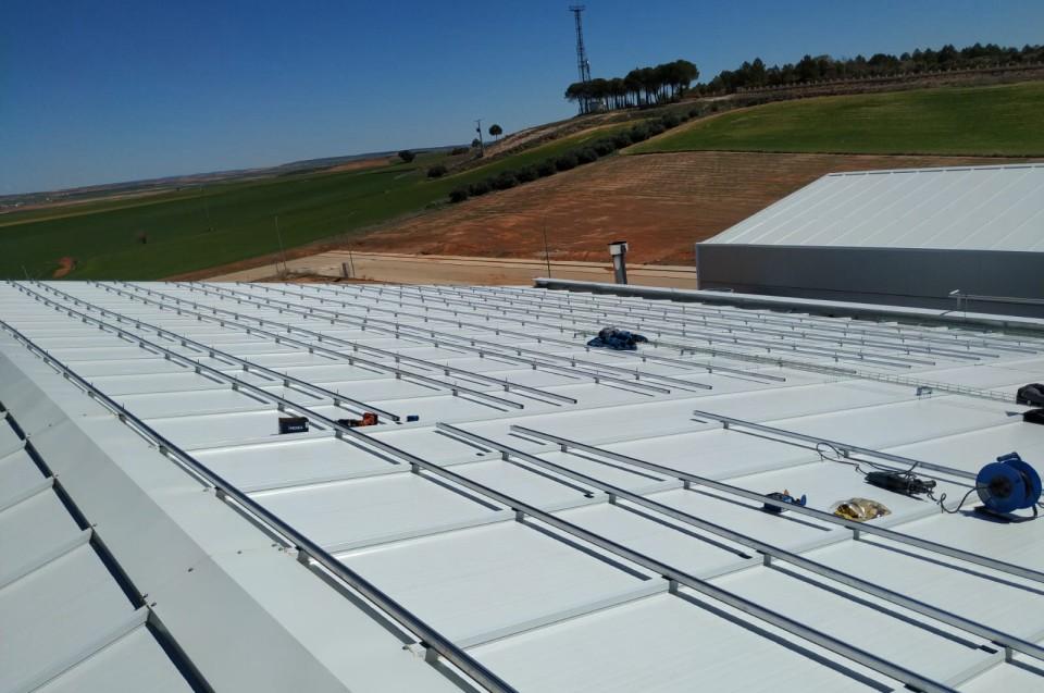 Estructuras Paneles Fotovoltaicos