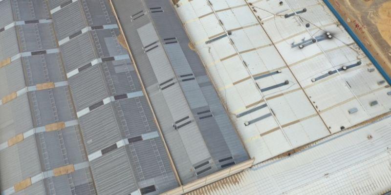 Proyecto estructuras fotovoltaicas sobre cubiertas industrial de Grupo Losán