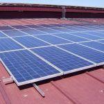 Estructuras solares metálicas para cubiertas industriales